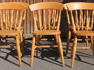6 X Spindle Back Chairs In Haywards Heath