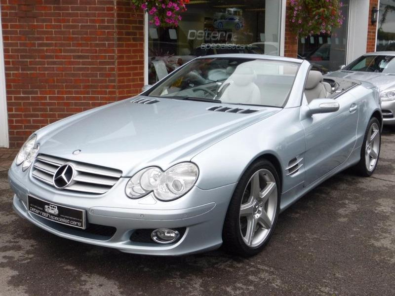 Mercedes benz sl 2007 in southampton friday ad for Finance mercedes benz