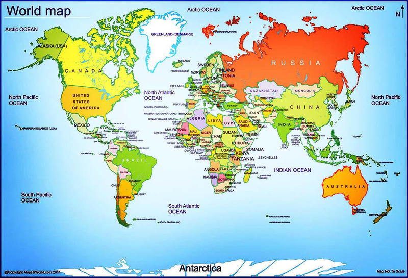 Zip Code World Map All Places Map Maps Of World World - Labeled world map