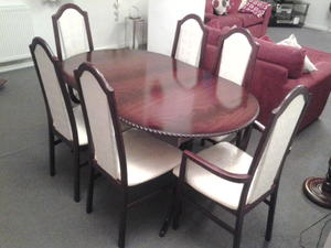 6 Mahogany Dining Chairs For Sale In UK View 83 Ads