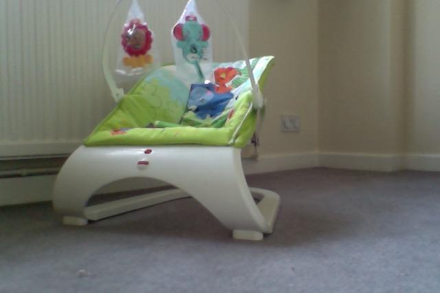 Fisher Price Baby Bouncing Chair in Haywards Heath