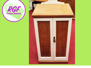 SALE NOW ON!! Antique Sheet Music Cupboard Painted & Restored - Local Delivery £19  in Lancing