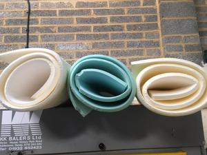 Scrap foam Skins ideal for upolstery or any crafts from £5.00p in Northampton