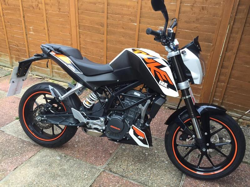 ktm duke 125cc learner legal motorbike in worthing expired friday ad. Black Bedroom Furniture Sets. Home Design Ideas