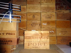 Wine racks crowborough expired friday ad for Empty wine crates
