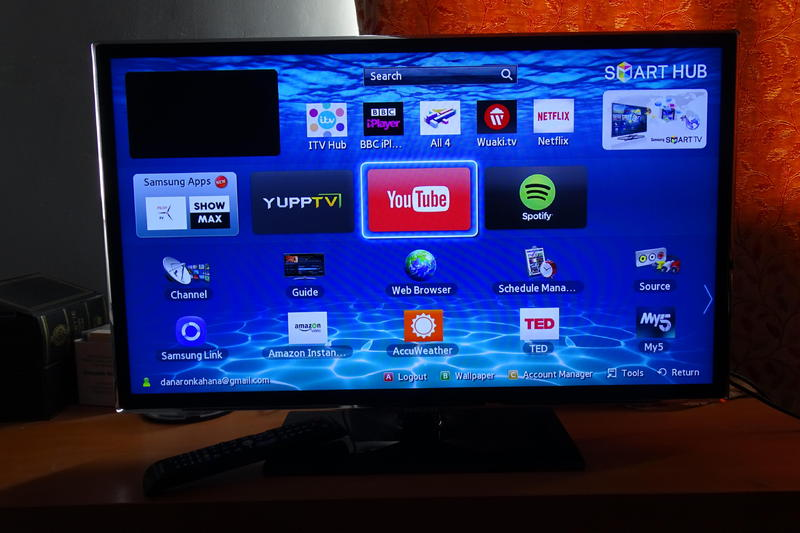 Samsung 32 Inch Smart Tv : SAMSUNG 32 INCH SMART LED HD TV UE32ES5500 PRICE REDUCED! in Exeter ...