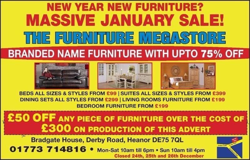 Furniture Village Advert branded furniture leather fabric sofas dfs ,john lewis , furniture