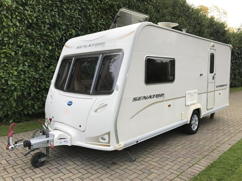 Wonderful Bailey Senator Vermont Series 6 2 Berth 2008 Caravan With End Washroom In Swanley - Expired ...