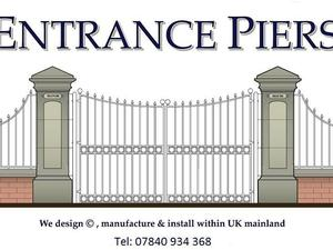 Georgian Style Entrance Piers Gate Pillars More Details Call