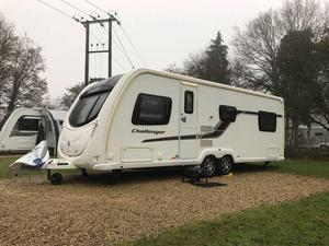 Cool  Berth 2015 Used  Good Condition Touring Caravans For Sale In Derby