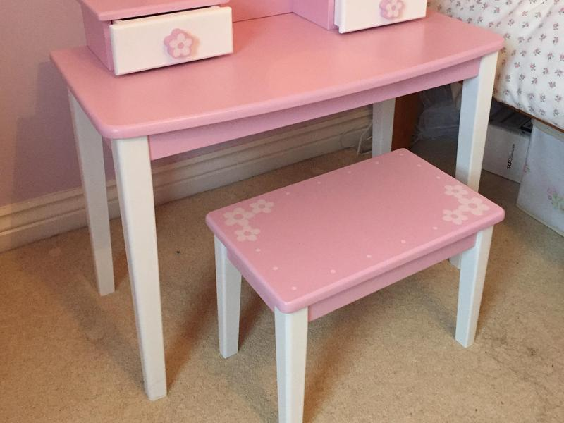 Girls wooden dressing table in peterborough sold friday ad for Womens dressing table