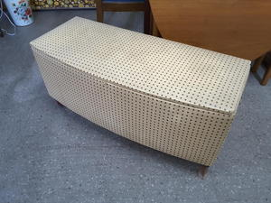SALE NOW ON!! Blanket Box For Repair & Reupholstery- Local Delivery £19 in Lancing