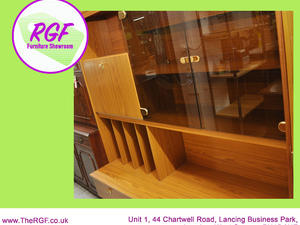 SALE NOW ON!! Retro Style Display Cabinet With Cupoards & Drawers  - Local Delivery £19  in Lancing