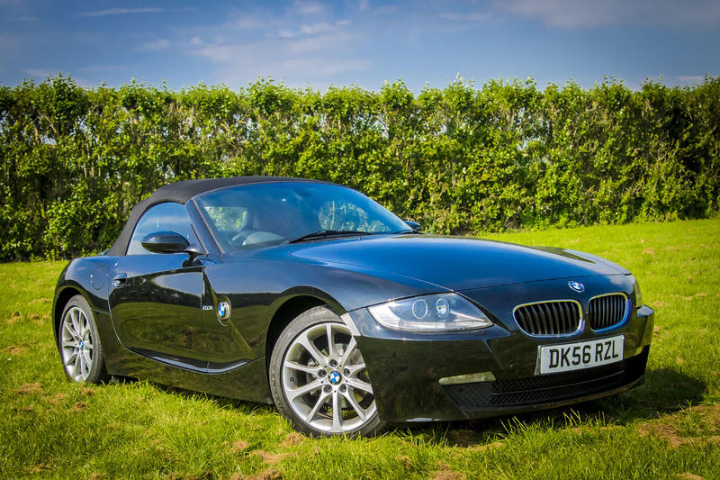 2006 Bmw Z4 2 0 Convertible Red Leather In Redhill