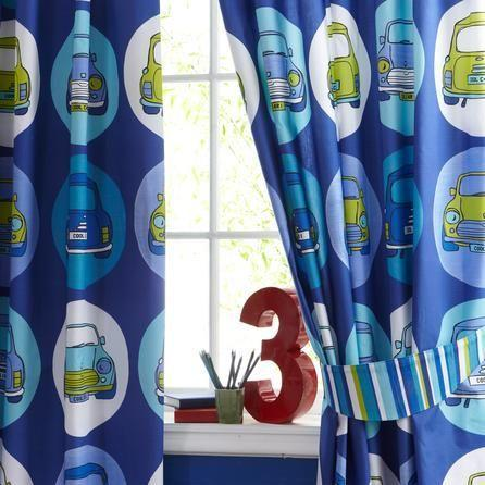 Blackout Curtains boys blue blackout curtains : Boys blackout curtains with cool cars in Brighton - Expired ...