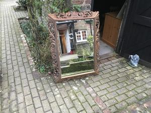 LARGE BEVELLED GLASS MIRROR ......... in Brighton