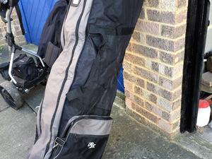 air flight golf travel bags for sale  Leybourne