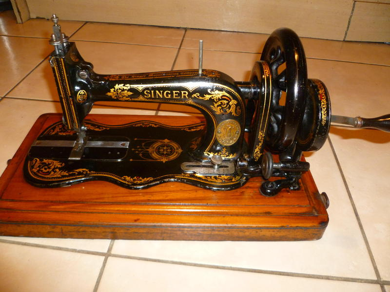 singer crank sewing machine for sale