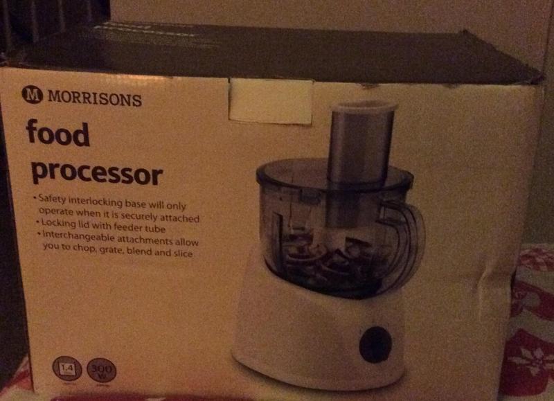 Morrisons Food Processor