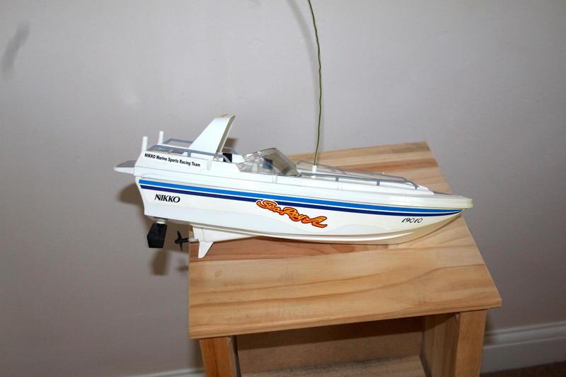 Vintage Nikko Sea Ray Remote Control Speed Boat in ...