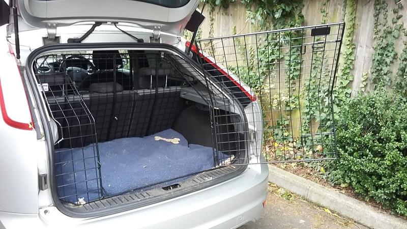 Custom Fitted Dog Crate For Entire Boot Of Ford Focus In