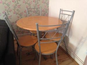 Dining Table And Chairs In Kettering