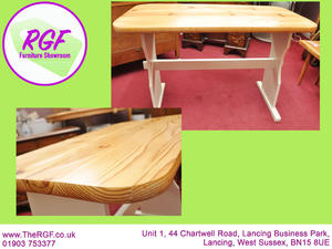 SALE NOW ON!! Pine Dining Table - Local Delivery £19  in Lancing