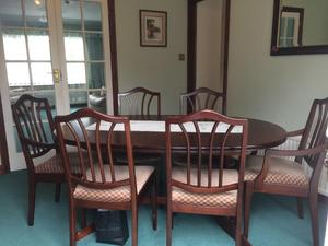 Dining Table Chairs And Sideboard In Weston Super Mare