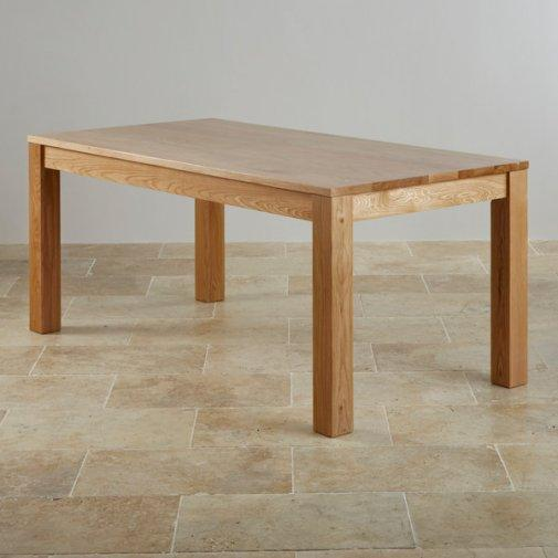 SOLID OAK DINING TABLE amp CHAIRS OAKFURNITURELAND in  : solid oak dining table chairs oakfurnitureland 16146216 1800X600 from www.friday-ad.co.uk size 505 x 505 jpeg 25kB