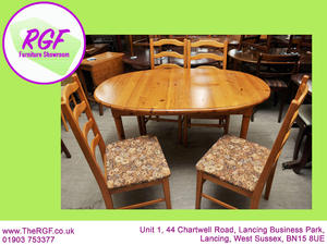 SALE NOW ON Extendable Dining Table And 4 Chairs