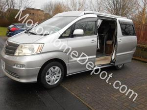 Toyota Conversion 4 Berth 2004 Motorhome For Sale In Glasgow Mansfield