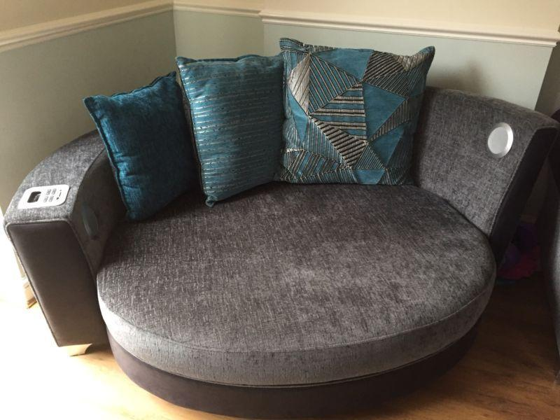 DFS Cuddle Chair   Large 2 Person   Built In Docking Station U0026 Speakers In  Peterborough   Expired   Friday Ad