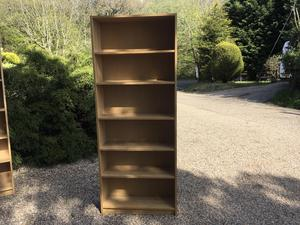 Large solid bookcases 80 cms wide x 28cms deep x 202 cms high  in Brighton