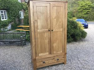 SOLID OAK FURNITURE LAND WARDROBE  in Brighton