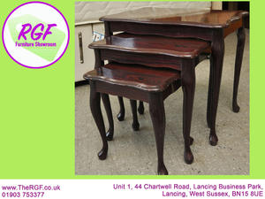 SALE NOW ON!! Nest of 3 Tables - Local Delivery £19  in Lancing