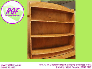SALE NOW ON!! Solid Wood Bookcase - Local Delivery £19  in Lancing
