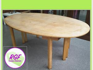 FURTHER REDUCTION!! Oval Dining Table - Local Delivery £19  in Lancing