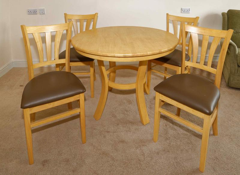 Round Dining Table amp 4 Chairs in Littlehampton Expired  : round dining table 4 chairs 16228011 1800X600 from www.friday-ad.co.uk size 800 x 584 jpeg 61kB