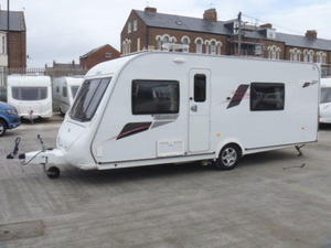 Wonderful   2011 Used  Good Condition Touring Caravans For Sale In Preston