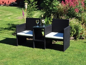 Second Hand Black Kingfisher Garden Furniture For Sale In Hastings