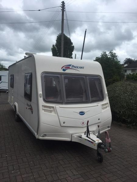 Simple  Conqueror 570 Touring Caravan 4 Berth 2011 Swift For Sale In Bristol