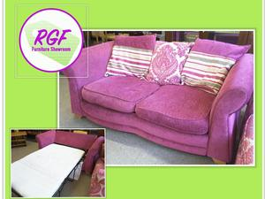 SALE NOW ON!! Pink Sofa Bed With Mattress - Local Delivery £19  in Lancing