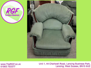 SALE NOW ON!! Green Armchair - Local Delivery £19 in Lancing