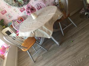 Pine Table And Chairs In Kettering