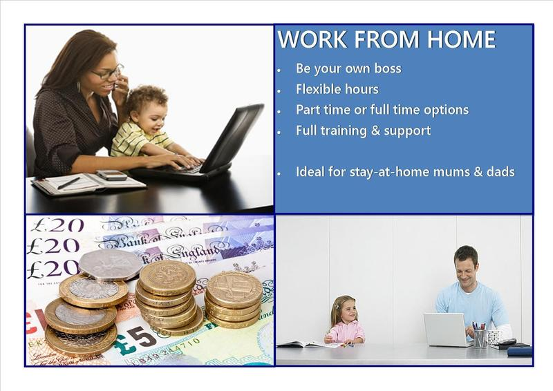 Work from home choose your own hours fits around family for Choose your own home