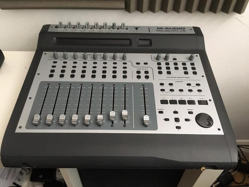 m audio project mix i o firewire audio interface daw controller mixer in st leonards on sea. Black Bedroom Furniture Sets. Home Design Ideas
