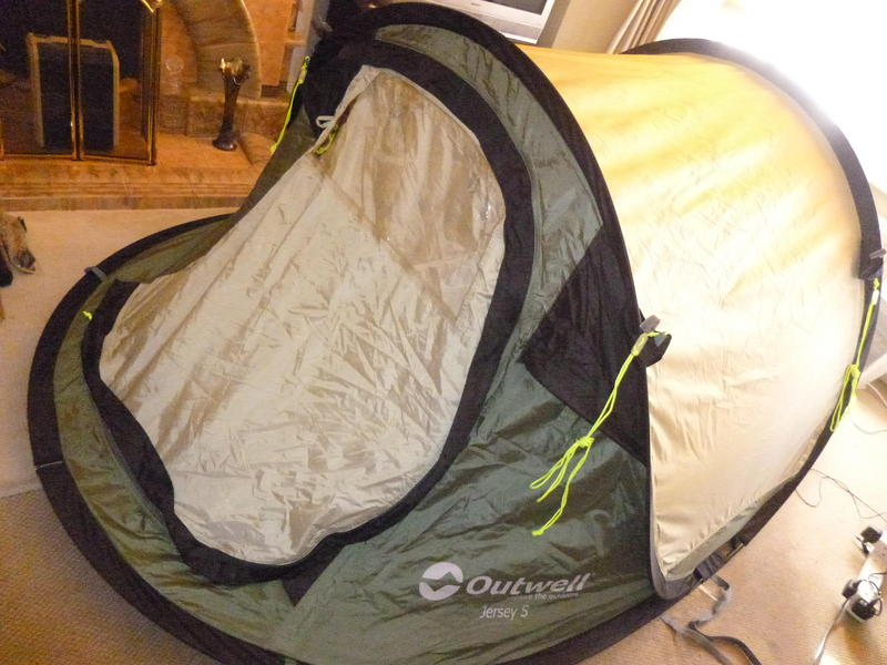 Outwell Jersey S 2 Person Double skin pop-up tent - £42ono Used once in back garden in Bristol - Expired | Friday-Ad & Outwell Jersey S 2 Person Double skin pop-up tent - £42ono Used ...