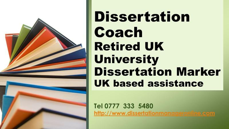 Dissertation Coaching