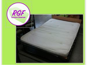 SALE NOW ON!! Fold-Up Small Double Bed - Local Delivery £19 in Lancing