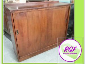 Sale Now On!! Wooden Cupboard With Sliding Doors - Local Delivery £19  in Lancing